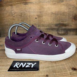 Teva Freewheel Corduroy Bordeaux Lace Up Sneaker